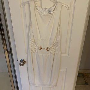 White Cache dress